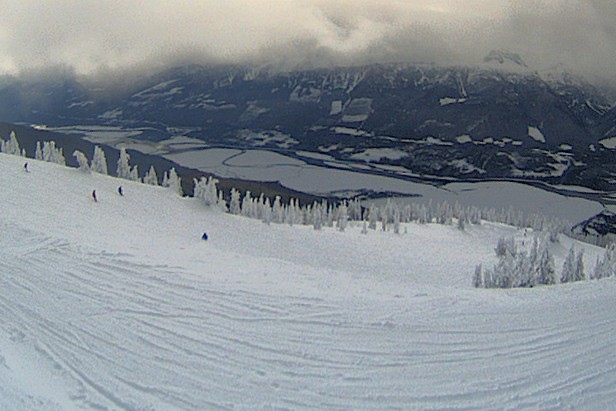 Top of the Stoke high-speed quad chair